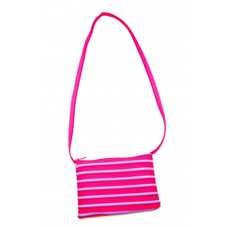 Sac Rectangle Fuchsia et Mauve