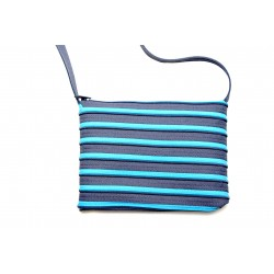 Sac Rectangle Gris et Turquoise