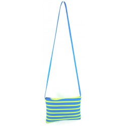 Sac Rectangle Turquoise et Fluo