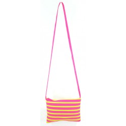 Sac Rectangle Fuchsia et Fluo